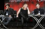 Ian Somerhalder, Julie Plec, Joseph Morgan, The Vampire Diaries/The Originals panels, The CW, TCA 2015