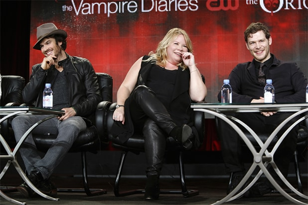 Ian Somerhalder, Julie Plec, Joseph Morgan, The Vampire Diaries/The Originals panels, The CW, TCA 2015