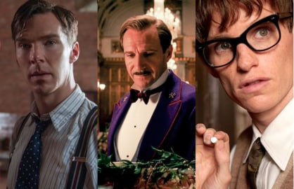 The Imitation Game, The Grand Budapest Hotel and The Theory of Everything