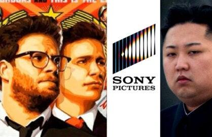 The Interview, Sony logo, Kim Jong-un