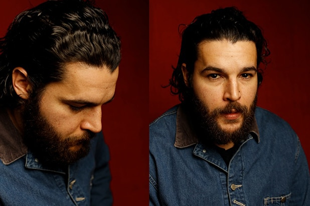 """James White"" star Christopher Abbott, photographed by Patrick Fraser at TheWrap's Kia photobooth during the 2015 Sundance Film Festival in Park City, Utah on Jan. 23, 2015."