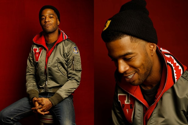 """James White"" star Scott ""Kid Cudi"" Mescudi, photographed by Patrick Fraser at TheWrap's Kia photobooth during the 2015 Sundance Film Festival in Park City, Utah on Jan. 23, 2015."