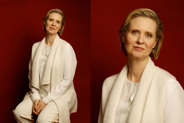 """James White"" and ""Stockholm, Pennsylvania"" star Cynthia Nixon, photographed by Patrick Fraser at TheWrap's Kia photobooth during the 2015 Sundance Film Festival in Park City, Utah on Jan. 23, 2015."