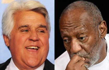Jay Leno, Bill Cosby
