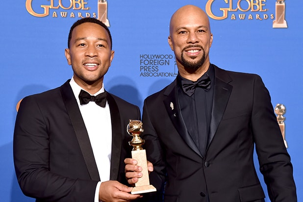 John Legend, Common Golden Globe victory