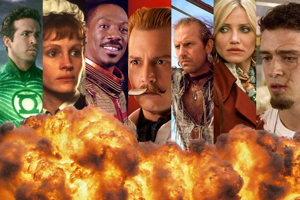 41 A-List Actors Who Bombed as Hard as Johnny Depp in