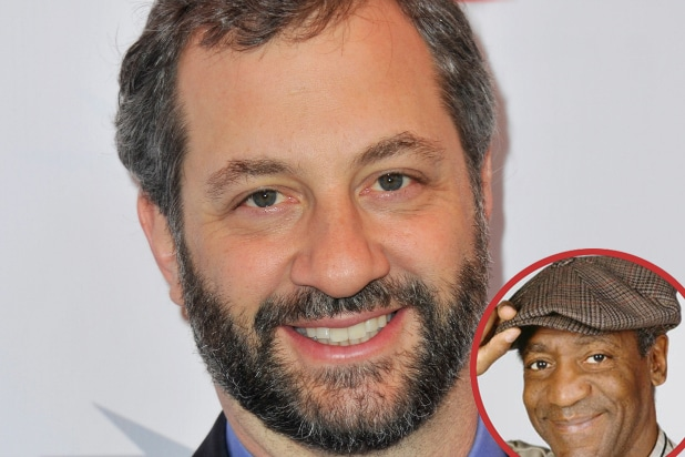 Judd Apatow with Bill Cosby insert
