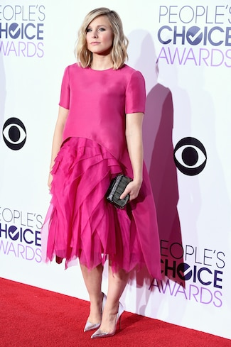 Kristen Bell The 41st Annual People's Choice Awards - Red Carpet