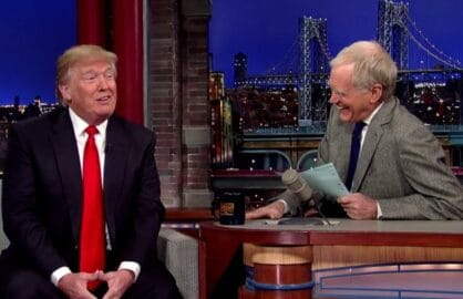 "Donald Trump on ""Late Show with David Letterman"""