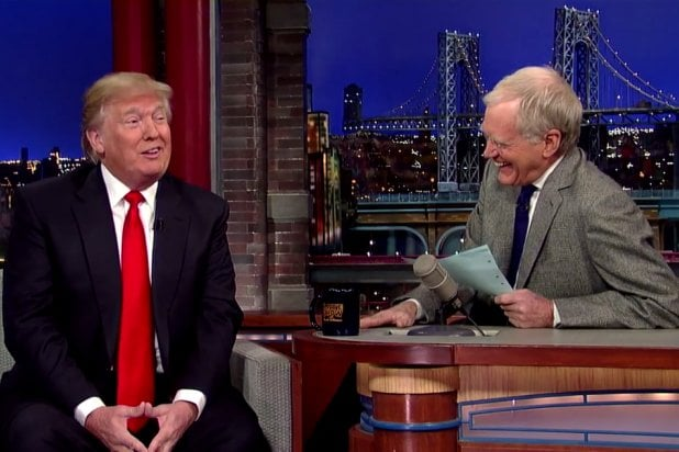 """Donald Trump on """"Late Show with David Letterman"""""""