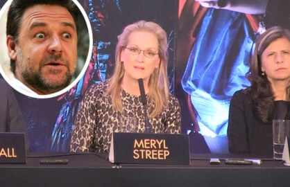 Meryl Streep, Russell Crowe