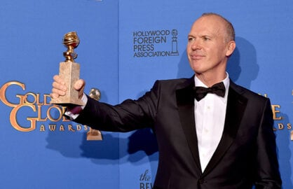 Michael Keaton wins Best Performance at Golden Globes for Birdman