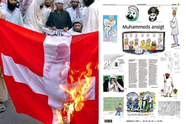 Danish newspaper Jyllands-Posten published editorial cartoons depicting Islamic prophet Muhammad in 2005