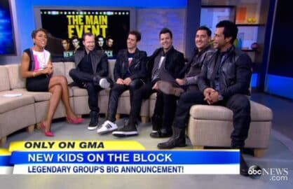 new kids on the block tlc nelly tour main event abc gma
