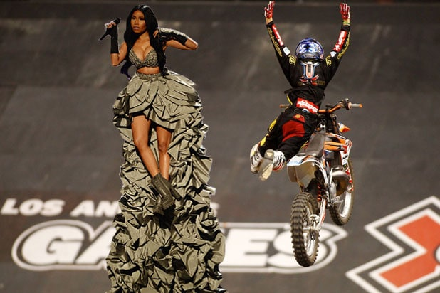 X Games Nicki Minaj Named Head...