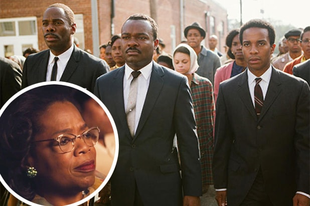 Oprah Winfrey, David Oyelowo, Selma