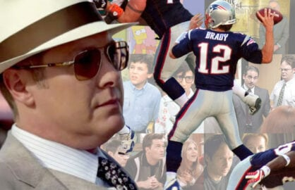 "James Spader's ""Blacklist"" should see its best ratings ever, airing after Sunday's Super Bowl. (Paul Keleher)"