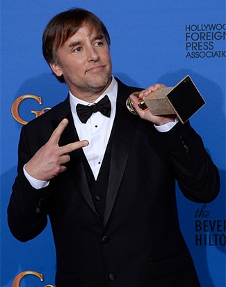 Richard Linklater wins Golden Globe for Best Director, Boyhood