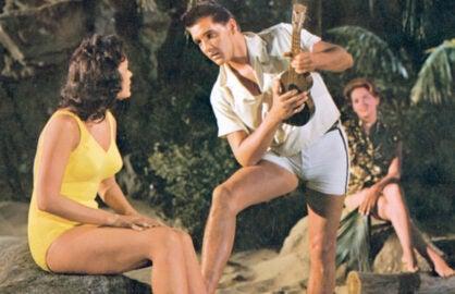 Elvis Presley in Blue Hawaii