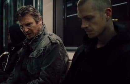 "Liam Neeson and Joel Kinnaman in ""Run All Night"""