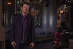 "Blake Shelton on ""Saturday Night Live"""