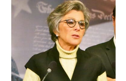 Senator Barbara Boxer, Democrat from California