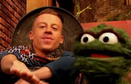 "Macklemore on ""Sesame Street"""