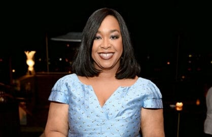 Shonda Rhimes at ELLE's Annual Women in Television Celebration