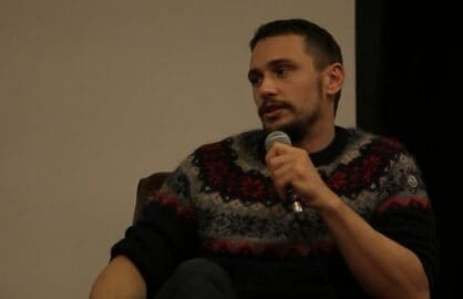 "James Franco speaks at ""Coffee With ... James Franco"""