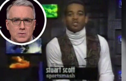 Stuart Scott, Keith Olbermann insert