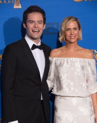 "Kristen Wiig & Bill Hader at ""The 72nd Annual Golden Globe Awards"""