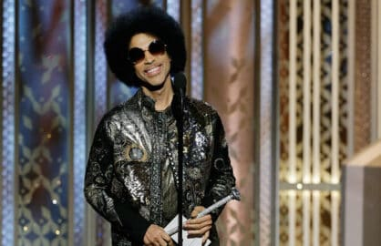 "Prince at ""The 72nd Annual Golden Globe Awards"""