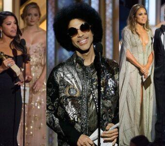 """Gina Rodriguez, Prince, Jennifer Lopez, Jeremy Renner at """"The 72nd Annual Golden Globe Awards"""""""