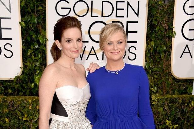 "Tina Fey & Amy Poehler, ""The 72nd Annual Golden Globe Awards"""