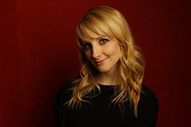 """The Bronze"" star Melissa Rauch, photographed by Patrick Fraser at TheWrap's Kia photobooth during the 2015 Sundance Film Festival in Park City, Utah on Jan. 23, 2015."