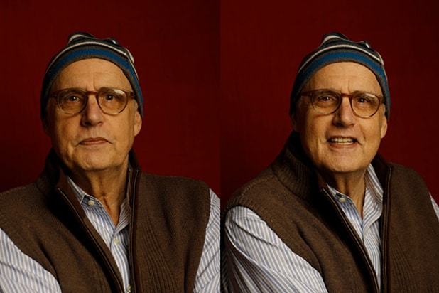 """The D Train"" star Jeffrey Tambor, photographed by Patrick Fraser at TheWrap's Kia photobooth during the 2015 Sundance Film Festival in Park City, Utah on Jan. 23, 2015."