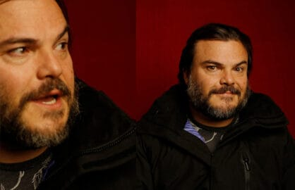 """The D Train"" star Jack Black photographed by Patrick Fraser at TheWrap's Kia photobooth during the 2015 Sundance Film Festival in Park City, Utah on Jan. 23, 2015."