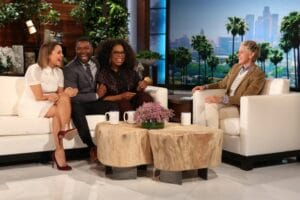 """Selma"" stars Carmen Ejoga, David Oyelowo, Oprah Winfrey on ""The Ellen DeGeneres Show"""
