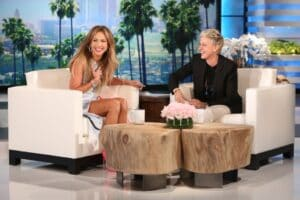 "Jennifer Lopez on ""The Ellen DeGeneres Show"""