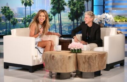"Jennifer Lopez on ""The Ellen DeGeneres Show"""