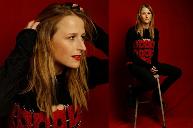 """The End of the Tour"" star Mamie Gummer, photographed by Patrick Fraser at TheWrap's Kia photobooth during the 2015 Sundance Film Festival in Park City, Utah on Jan. 23, 2015."