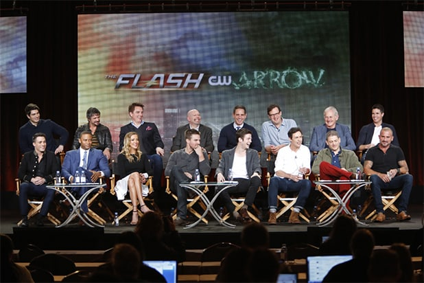 The Flash, Arrow panels at The CW TCA Winter 2015