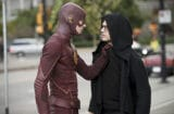 Grant Gustin and Andy Mientus on The Flash