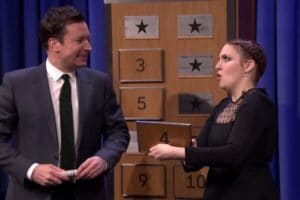 "Lena Dunham on ""The Tonight Show Starring Jimmy Fallon"""