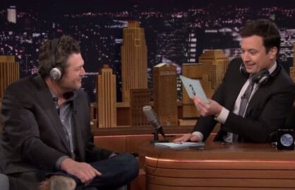 "Blake Shelton on ""The Tonight Show Starring Jimmy Fallon"""