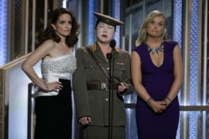 Tina Fey, Amy Poehler and Margaret Cho
