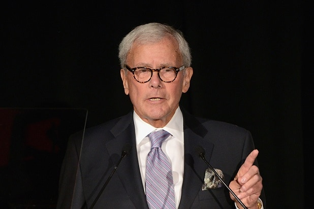 Rachel Maddow, More Than 60 Women Rally for Tom Brokaw