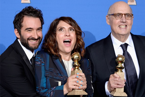 "Best Television Series – Comedy or Musical -- ""Transparent,"" Amazon, Amazon Studios Instant Video"