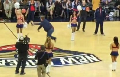 Will Ferrell Basketball Toss
