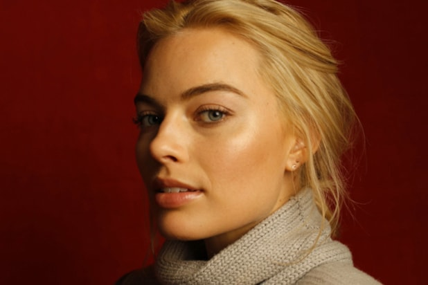 """Z for Zachariah"" star Margot Robbie, photographed by Patrick Fraser at TheWrap's Kia photobooth during the 2015 Sundance Film Festival in Park City, Utah on Jan. 23, 2015."